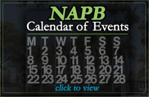 NAPB Calendar of Events